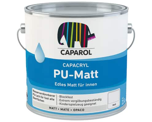 Capacryl mix PU-Matt, bunt