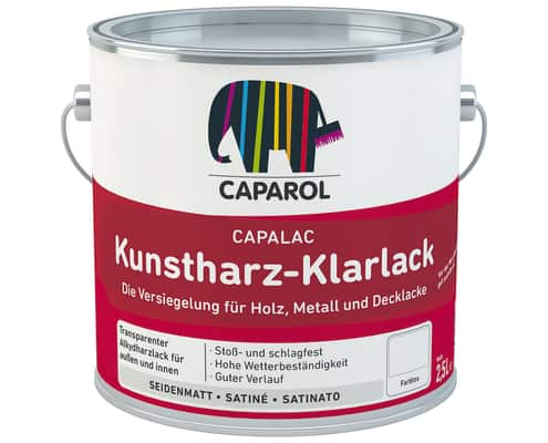 capalac Kunstharz-Klarlack 2,5l