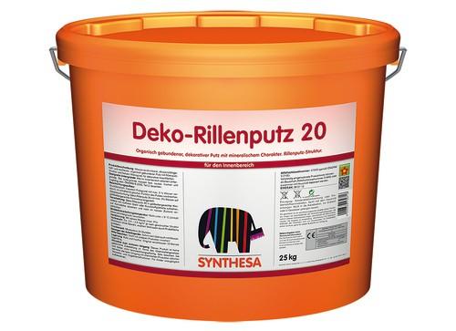 Deko Rillenputz 20