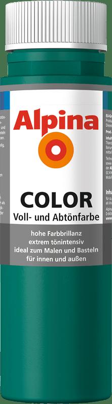 Alpina Color Voll- und Abtönfarbe Deep Green