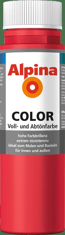 Alpina Color Voll- und Abtönfarbe Fire Red