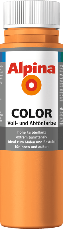 Alpina Color Voll- und Abtönfarbe Fresh Orange