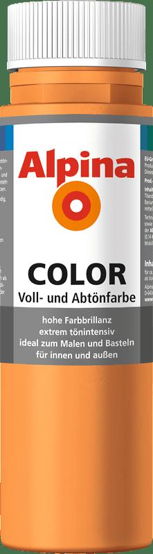 Alpina Color Voll- und Abtönfarbe Fresh Orange
