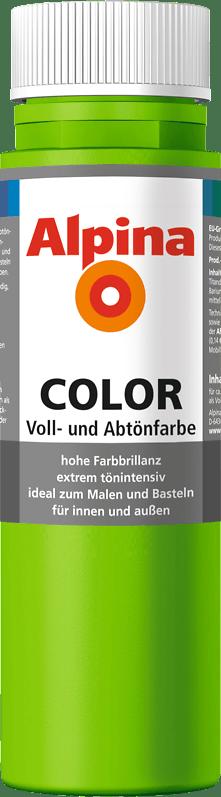 Alpina Color Voll- und Abtönfarbe Grass Green
