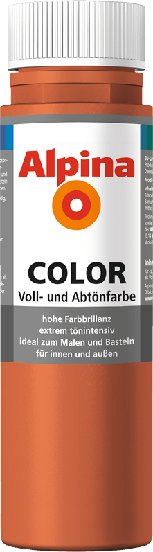 Alpina Color Voll- und Abtönfarbe Italian Red