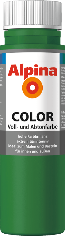 Alpina Color Voll- und Abtönfarbe Jungle Green