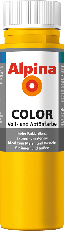 Alpina Color Voll- und Abtönfarbe Lucky Yellow