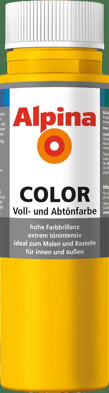 Alpina Color Voll- und Abtönfarbe Lucky Yellow