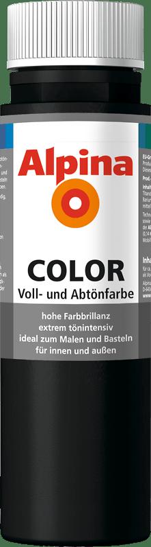 Alpina Color Voll- und Abtönfarbe Night Black