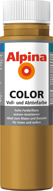 Alpina Color Voll- und Abtönfarbe Sahara Brown