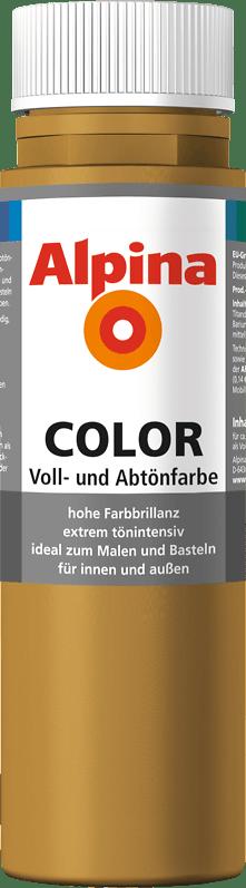 Alpina Color Voll- und Abtönfarbe Sahara Brown
