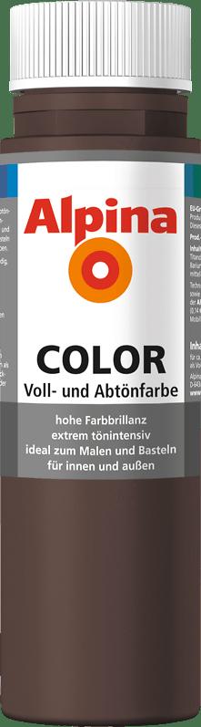 Alpina Color Voll- und Abtönfarbe Choco Brown