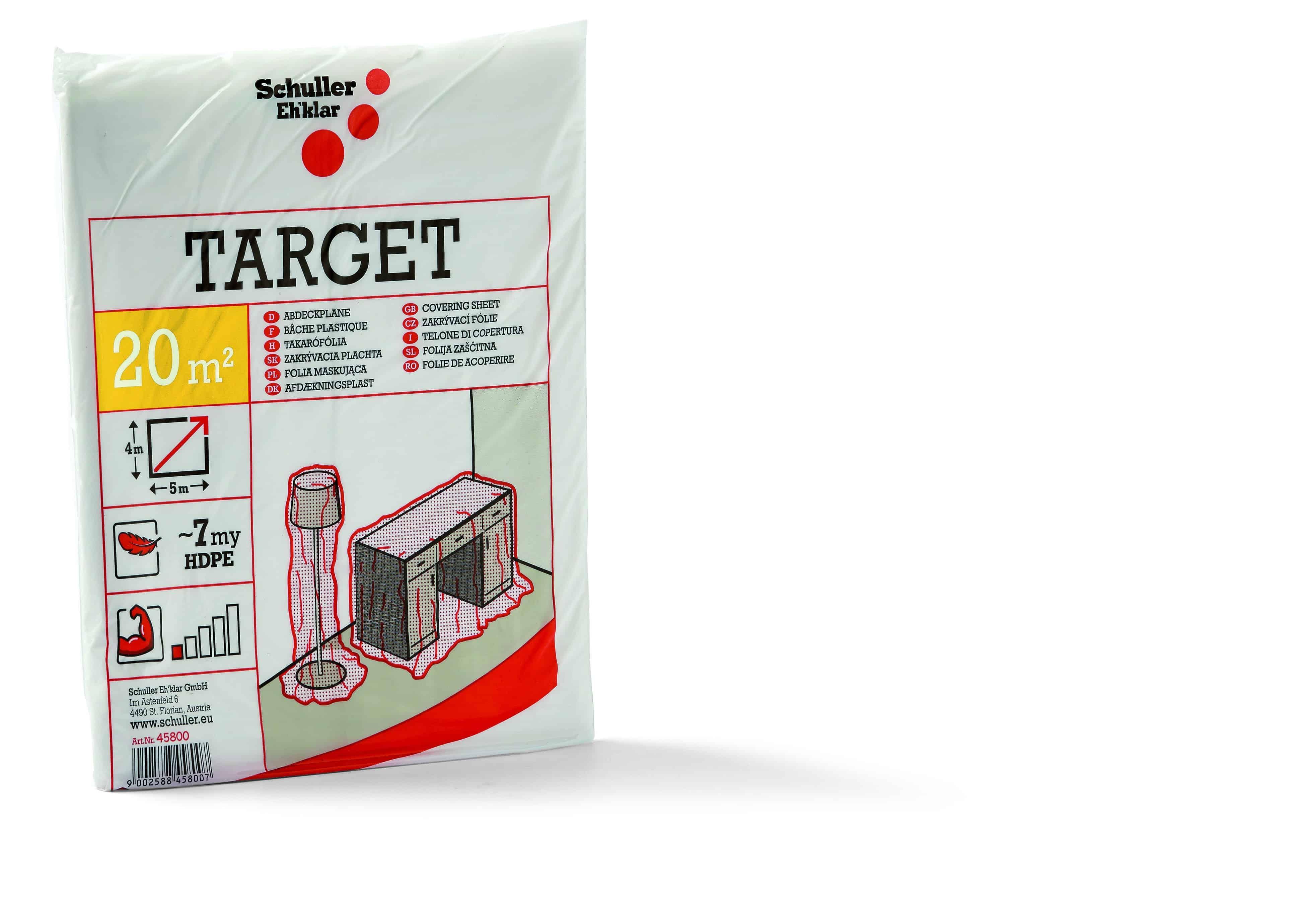 Abdeckfolie Target S7