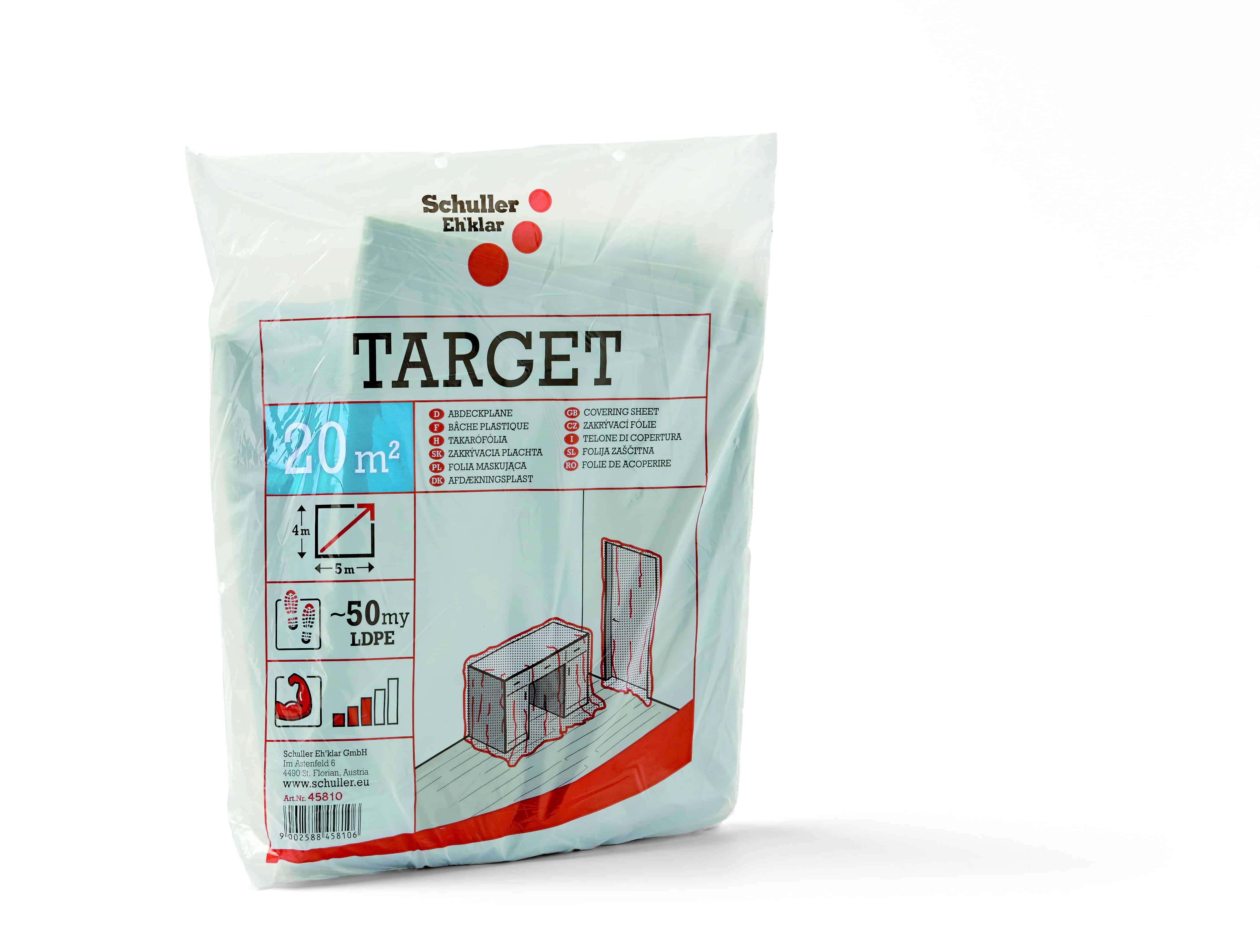 Abdeckfolie Target S50