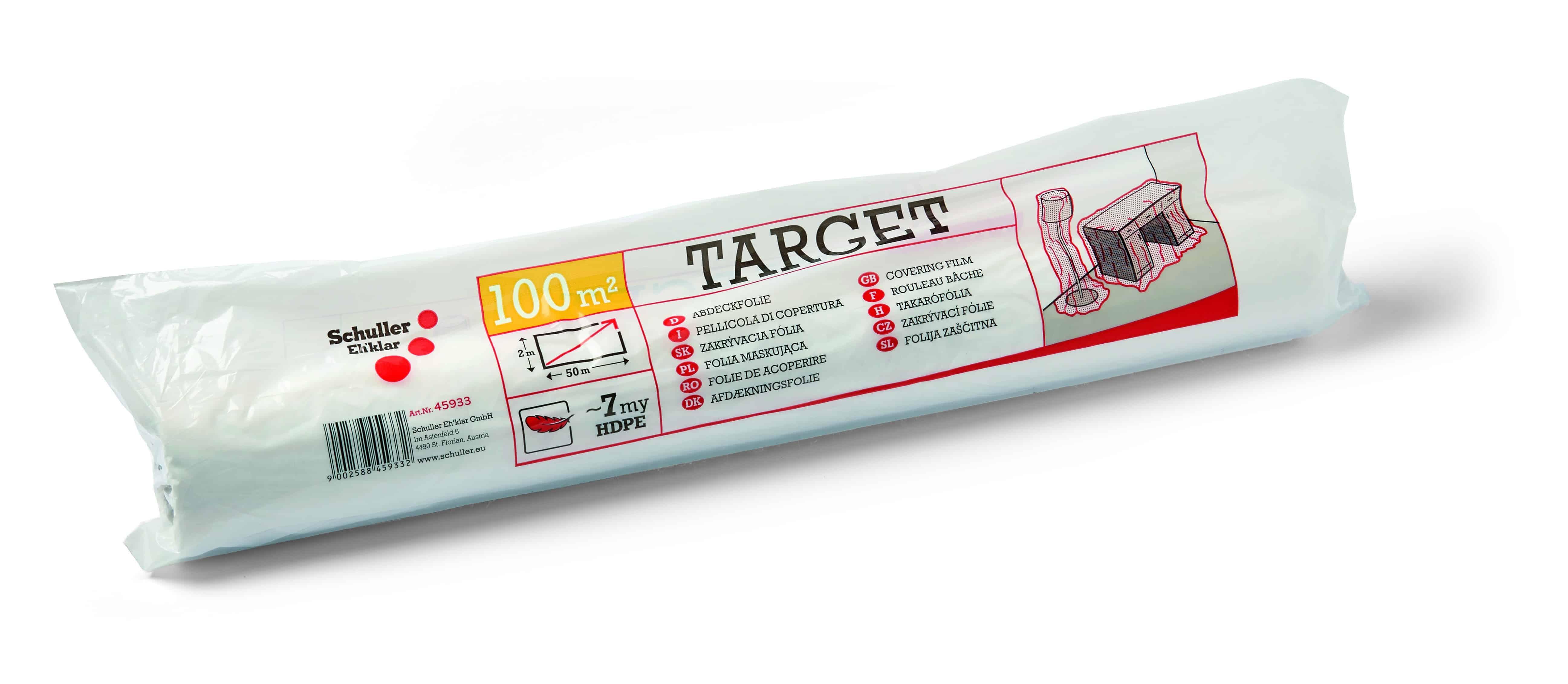 Abdeckfolie Target S7 2×50